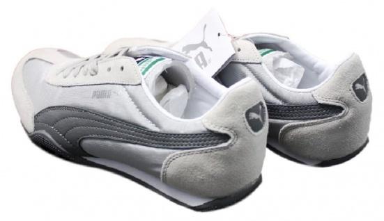 Puma Sneaker 76 Runner Nylon Retro Sneaker Puma Größe EUR 35 - 42 Grau Damen Schuhe Racer Cat 4851e5