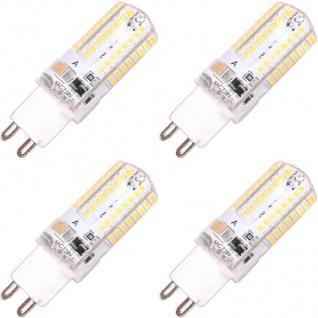 Patona 4x LED Glüh-Birne G9 SMD-3014 Stift-Sockel 3W / 30W Leuchtmittel Lampe
