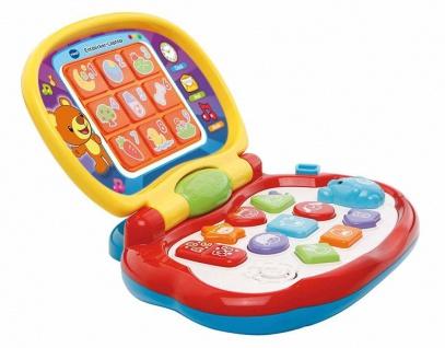 Vtech Baby Entdecker-Laptop Kinder-Computer Lern-Spielzeug Tiere Formen Zahlen