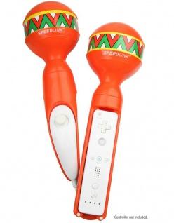 Speedlink Maracas für Wiimote Rumba-Rasseln Controller + Nunchuck Samba de Amigo