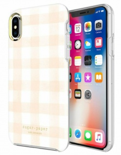 Sugar Paper LA Cover Hard-Case Schutz-Hülle Tasche Etui für Apple iPhone X Xs 10