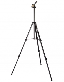 Hama Dreibein-Stativ Profil Duo III 3D + Mono-Stativ 150cm Kamera-Stativ Foto