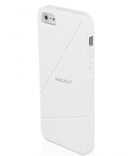 Macally Flex Cover Schutz-Hülle Hard-Case Schale Tasche für Apple iPhone SE 5S 5