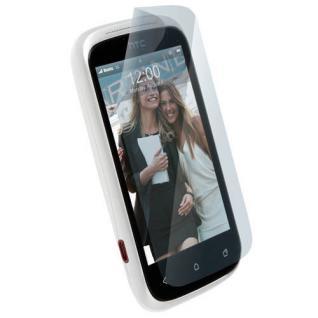 Krusell DELUXE Display Schutz Folie Schutzfolie für HTC Desire C Handy Screen