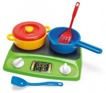Dantoy 4245 Kochplatte-Set Spielzeug Herdplatte Spiel-Küche Kinder-Spiel Kochen