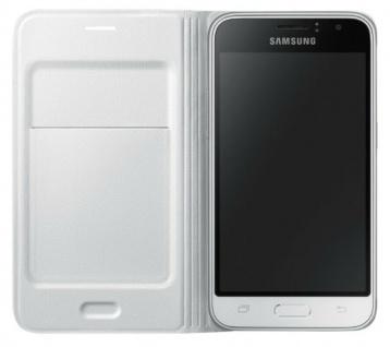Original Samsung Book-Cover Hard-Case Tasche Schutz-Hülle Bag für Galaxy J1 2016