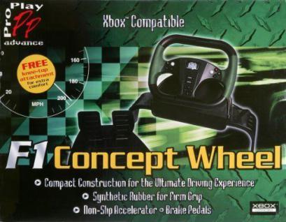 Pro Play RW F1 Concept Steering Wheel Lenkrad Pedale für Microsoft XBOX X-BOX