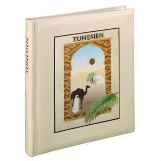 Hama Holiday Jumbo Buch-Album Motiv Tunesien Foto-Album Urlaubs-Fotos Bilder