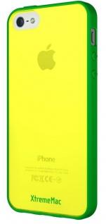 XtremeMac Design Cover Gelb Bumper Hülle Hardcase Tasche für Apple iPhone 5S 5