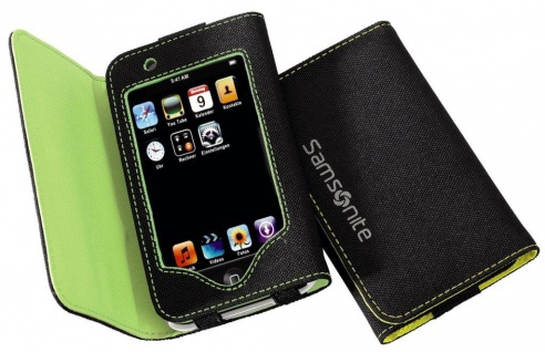 Samsonite MP3 Case Tasche Hülle Etui für Apple iPod Touch 2G 3G 2. 3. Generation