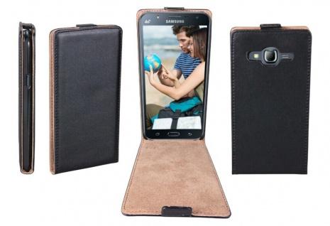 Patona Slim Flip Klapp-Tasche Schutz-Hülle Cover Case für Samsung Galaxy J7