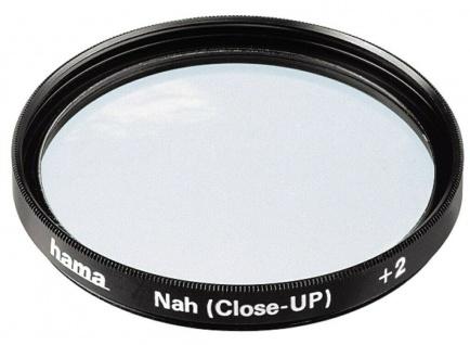 Hama Macro-Linse 62mm +2 Nah-Linse Close-up Lens AR coated vergütet