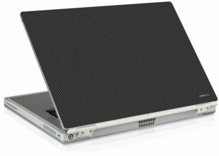 """SL Notebook Skin 14"""" 15"""" 15, 4"""" Aufkleber Carbon Laptop Sticker Schutz-Folie"""