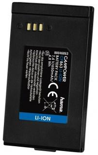 Hama Li-Ion Akku Batterie Ersatzakku für Samsung IA-BP85SW VP-DX10 Camcorder etc