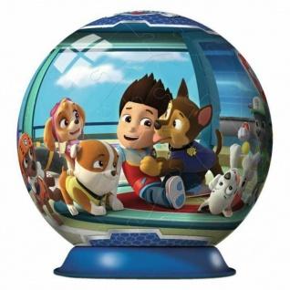 Ravensburger 3D Puzzle Paw Patrol Puzzle-Ball Spielzeug Chase Zuma Sky Rocky