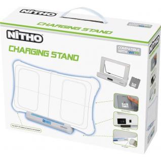 Nitho Ladegerät + Akku Docking Netz-Lader für Nintendo Wii Fit Balance Board