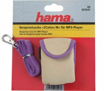 Hama Neopren-Tasche Gürtel-Schlaufe Köcher-Tasche Hülle Etui für MP4 MP3-Player