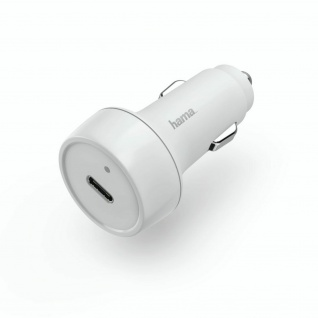 Hama KFZ-Ladeadapter USB-C Schnell Ladegerät 18W Auto für Handy Tablet