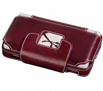 GIPIS Leder-Tasche rot Case Hülle Etui Bag für Nintendo DS Lite NDSL Konsole