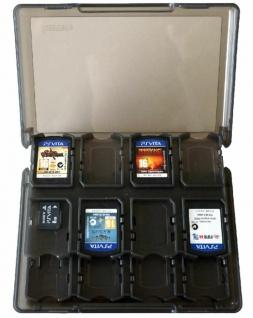 Hama Schutz-Hülle Tasche 30x Games 2x Memory Card Karte Box Etui für PS Vita PSV