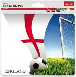 Speedlink Mauspad Motiv Mousepad England Fahne UK Lions Maus Mouse Pad EM WM