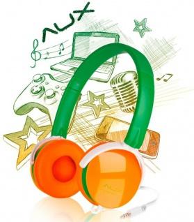 Speedlink AUX On-Ear Headset 3, 5mm Klinke Kopfhörer + Mikrofon Handy MP3 Hifi ..
