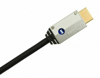 Monster Cable HQ HDMI-Kabel 6m Metall-Stecker High-Speed Ethernet Full-HD TV 3D