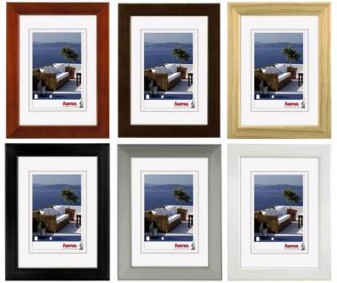 Hama Holz-Rahmen Cornwall Bilder-Rahmen Poster Fotos Portrait Wand Galerie Glas