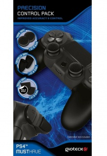 Gioteck Control Pack Grips Knöpfe Buttons Kappen Caps Trigger für PS4 Controller