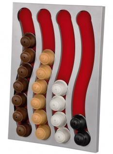 Hama Kapsel-Halter Wand-Halterung Kapsel-Spender Rack für 32 Dolce Gusto Kapseln