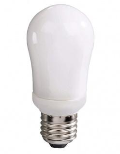 Xavax Energiesparlampe 9W / 39W E27 Glühbirne Kerze Lampe Leuchtmittel 2700K
