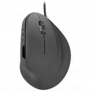 SPEEDLINK PIAVO Vertikale USB-Maus Optisch Ergonomisch 2400dpi 5 Tasten für PC