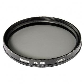 Hama Polarisations-Filter 77mm Pol-Filter circular 2x Vergütet Foto DSLR Kamera