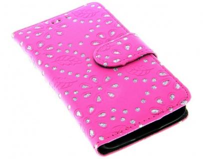 Patona Slim Flip Book-style Klapp-Etui Schutz-Hülle für Samsung Galaxy S5 mini