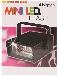 Bigben Party Mini LED Stroboscope Licht-Effekt Stroboskop Blizter Show DJ Disco - Vorschau 2