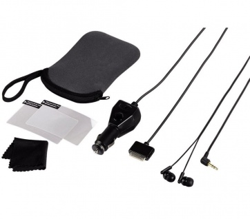 Hama Set Tasche Kfz Lader Kopfhörer für Sony PSP Go Playstation Portable Konsole
