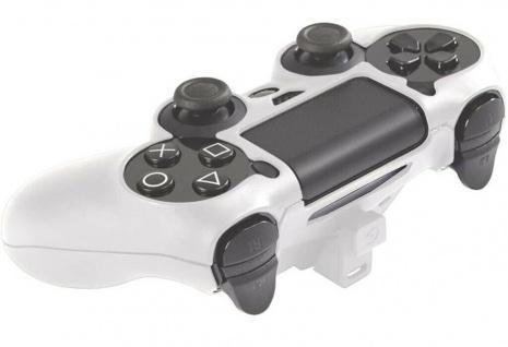 Gioteck Controller Skin mit Akku Hülle Gehäuse Hard-Case Box für PS4 Controller