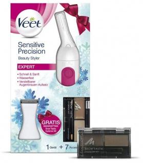 Veet Sensitive Precision Beauty Styler Expert Präzisions-Trimmer Gesicht Achseln