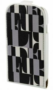 ELLE Flip-Tasche Cover Schutz-Hülle Schale Wallet Tasche für Samsung Galaxy S3