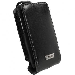 Krusell Flip Case Handy-Tasche für HTC HD Mini Etui Schutz-Hülle Klapp-Tasche