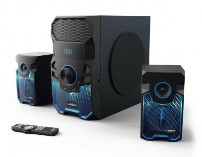 uRage Sound-System SoundZ 2.1 Revolution Lautsprecher Bluetooth PC Konsole TV