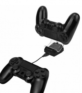 Gioteck Dual Charge Station USB Lade-Station Ladegerät für Sony PS4 Controller