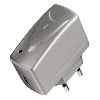 Hama USB Schnellladegerät für MP3 Player & iPod Silber