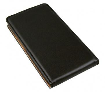 Patona Slim Flip Case Klapp-Tasche Schutz-Hülle Etui Cover für Alcatel Idol S S1