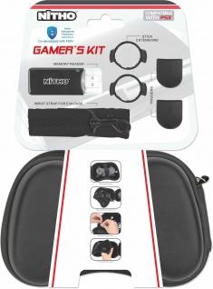 Nitho Kit Tasche Hardcase Triggers Card-Reader für Sony PS3 Wireless Controller