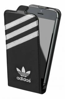 Adidas Flip-Cover Klapp-Tasche Schutz-Hülle Case Etui für Apple iPhone 5 5s SE