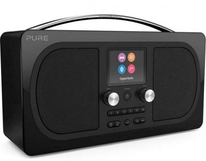 Pure Evoke H6 Prestige Digital-Radio DAB DAB+ UKW FM Bluetooth Display Wecker