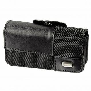Hama Leder-Tasche Etui Schutz-Hülle Gürtel-Tasche Quertasche Klapp-Handy Slider