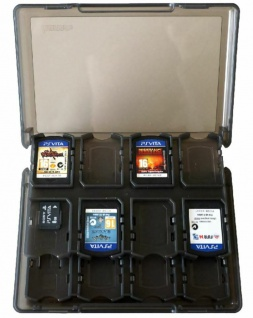 Hama Hardcase Spiele-Hülle 30x Karte Box Tasche Etui für Sony PS Vita 1000 2000