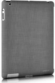SL Back-Cover Grau Hülle Smart Back-Case Tasche Box Bag für Apple iPad 3 4 3G 4G